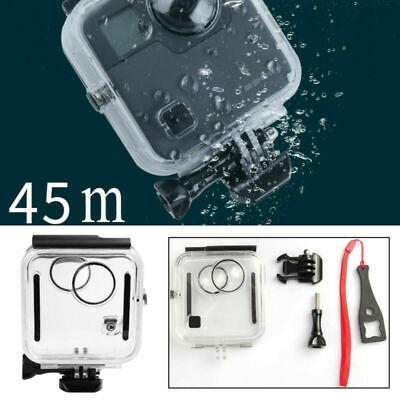 Premium 45M Diving Waterproof Housing Case for GoPro Fusion Protective Cover New