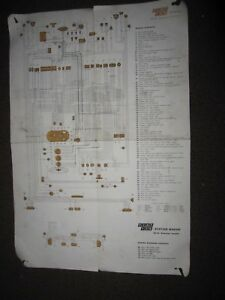 Fiat 128 Sedan Wagon Fiat Factory Wiring Diagram Ebay