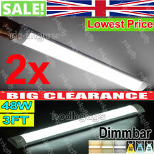 18-54W LED Batten Tube Light Linear Ceiling Tube Light Wall Bar Lamp Dimmable UK