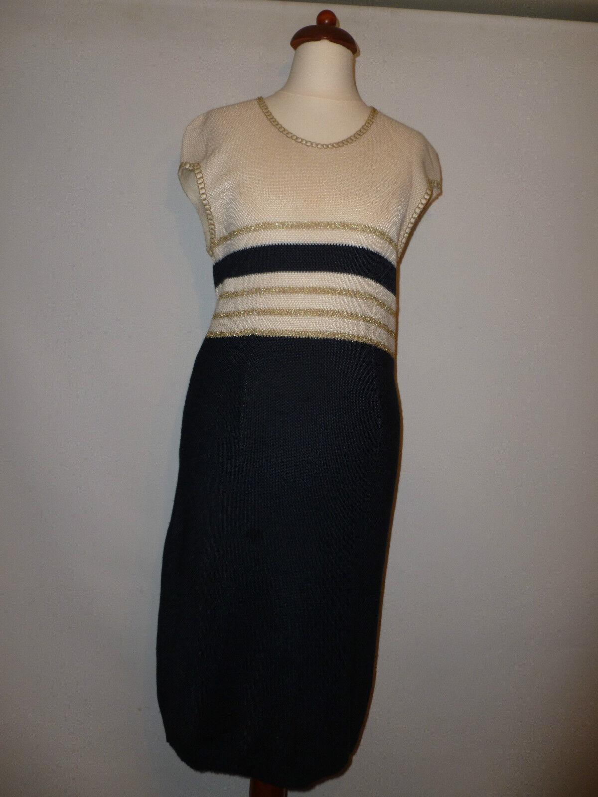 LADIES HAUBER GERMANY VINTAGE  KNITTED  DRESS - - SIZE