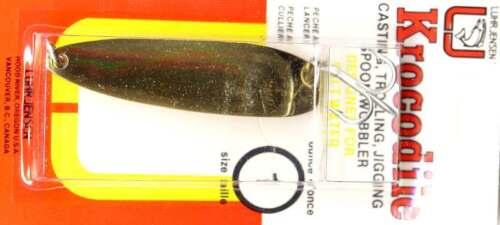 Luhr-Jensen Krocodile Brass Wobbler Fishing Spoon Lure Choose 1//4 oz. to 1 oz.