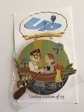 Up Carl Ellie Kiss the Girl Crossover The Little Mermaid Disney Fantasy Pin LE75