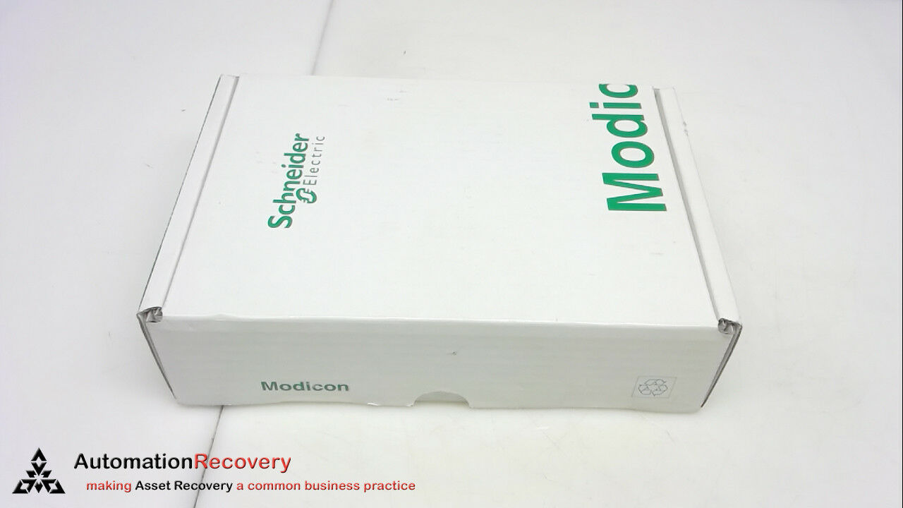 SCHNEIDER ELECTRIC 499NES18100, ETHERNET TCP IP SWITCH, 8 PORTS, NEW