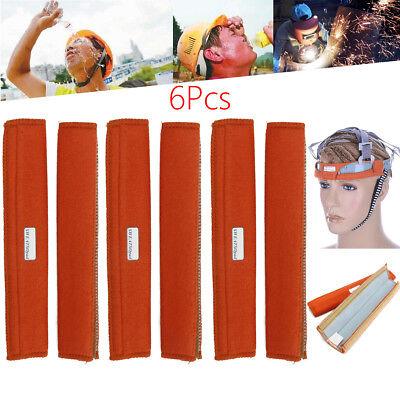 6Pcs 8.6/'/'x 3/'/' Cotton Welding Helmet Standard Replacment Sweatband Sweat Band