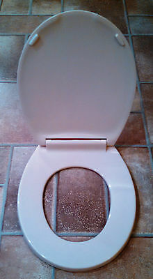 Beneke Quality Solid Plastic Round Front Toilet Seat 420