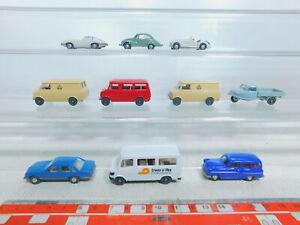 BY361-0,5 #10x wiking H0 / 1:87 Modèle : Opel + DKW + BMW + MB + Goli Etc, Top