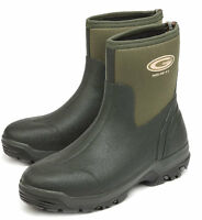 Grubs Midline Ankle Neoprene Short Wellington Boots/muck Boots Size 8