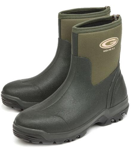 Grubs Midline Ankle Neoprene Short Wellington Boots//Muck Boots Size 6