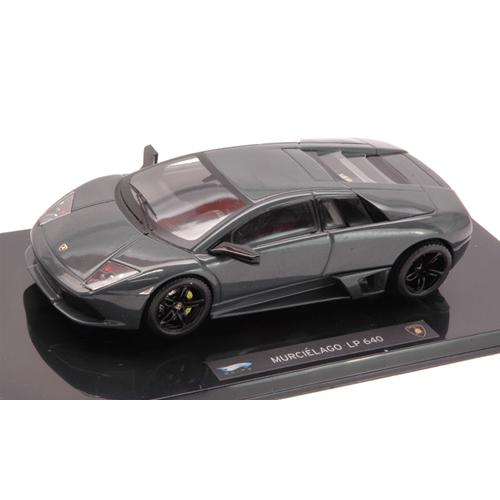 LAMB.MURCIEL.LP 640 2006 grigio 1:43 Hot Wheels Auto Stradali Die Cast Modellino