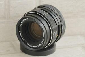 KMZ-MC-Helios-44k-4-2-58mm-Russische-SLR-Objektiv-Pentax-Praktica-Zenit
