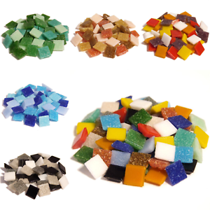 400-Vitreous-Glass-mosaic-tiles-for-Arts-and-Crafts-Various-Mixes