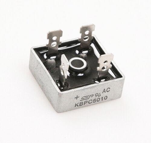 KBPC5010 1000 Volt Gleichrichter 50 Amp 50A Metal Case 1000V Diode Bridge B2SA