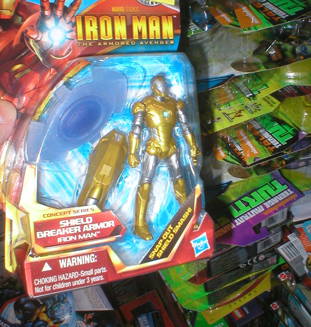 IRON MAN CONCEPT SERIES SHIELD BREAKER ARMOR IRON MAN, NEVER OPENED, RARE