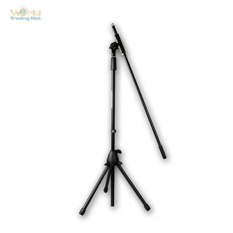 Microphone Stand with gallows & CLAMP, LIVE STAGE TRIPOD, Microphone Stand
