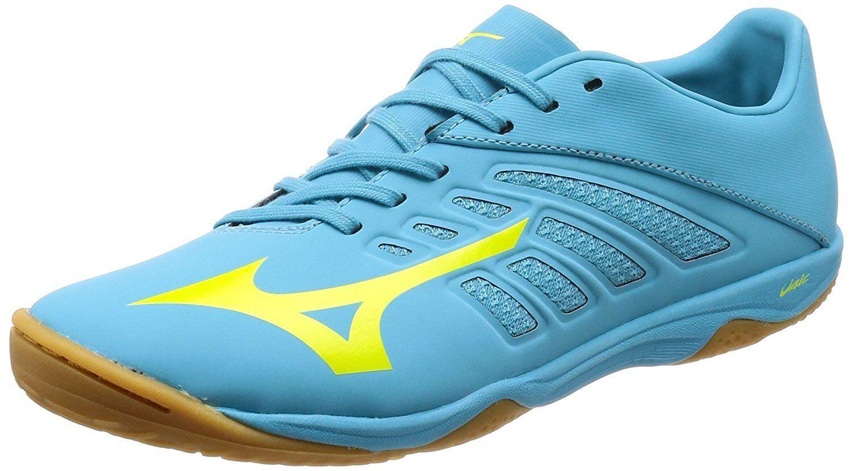 Zapatos DE FUTSAL FÚTBOL FÚTBOL Mizuno Basara 101 Sala Q1GA1830 Azul US7 (25cm)