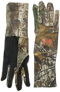 6fcbb1002a591 Under Armour ColdGear Camo Liner Gloves - Two Different Colorways   eBay