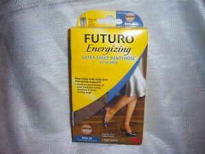 Futuro Energizing Ultra Sheer Pantyhose For Women French