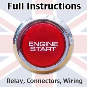 Engine Start Button for Opel Astra Corsa Vectra Mk2 Mk3 Mk4 Mk5 Mk6 Mk7 VXR BC