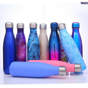 Water-Bottle-Vacuum-Insulated-Flask-Thermal-Sport-Gym-Cold-Cups-Drink-All-Size