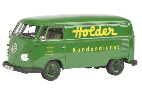 Schuco vw volkswagen t1  Holder  camionnette vert vert 1 32 Art. 450892700