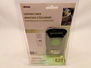 Details About Outdoor 24 Hour Mechanical Lighting Timer Box Woods 50011