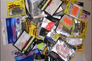 5 X Bulk Assorted 50mm Soft Plastics Lures Pack Fresh /& Saltwater Fishing Lures