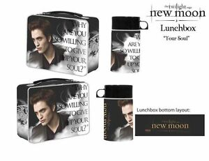 TWILIGHT-New-Moon-039-Your-Soul-039-Lunchbox-amp-Drink-Container-NECA-NEW