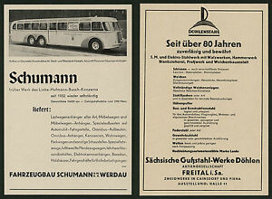 Auto-Wagenbau-Schumann-Werdau-Cainsdorf-Pirna-Sachsen-Omnibus-Alstom-Linke-1938