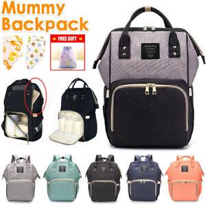 Luxury-Multifunctional-Baby-Diaper-Nappy-Backpack-Mummy-Changing-Bag-Waterproof