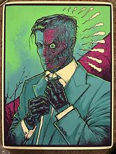 Godmachine Two-Face Batman Dark Knight Movie Print Comic Poster Mondo DC Comics
