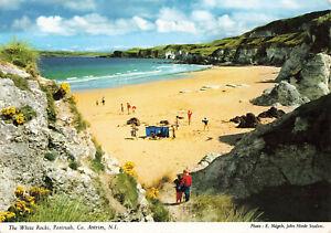 Lovely-Vintage-Postcard-White-Rocks-Portrush-Antrim-N-Ireland-Aug-2000-2NI57
