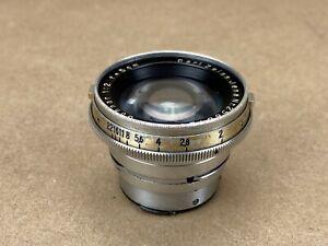 Contax-RF-Carl-Zeiss-Jena-5cm-f-2-Sonnar-Chrome-Lens-2586127
