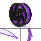 3D Printer Filament 1.75mm PLA 1kg For Drawing Print Pen MakerBot Purple UE