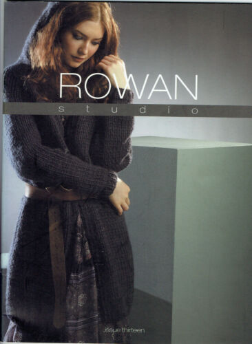 Rowan Studio Design books for knitting /& crochet patterns ~ reduced to £3.95