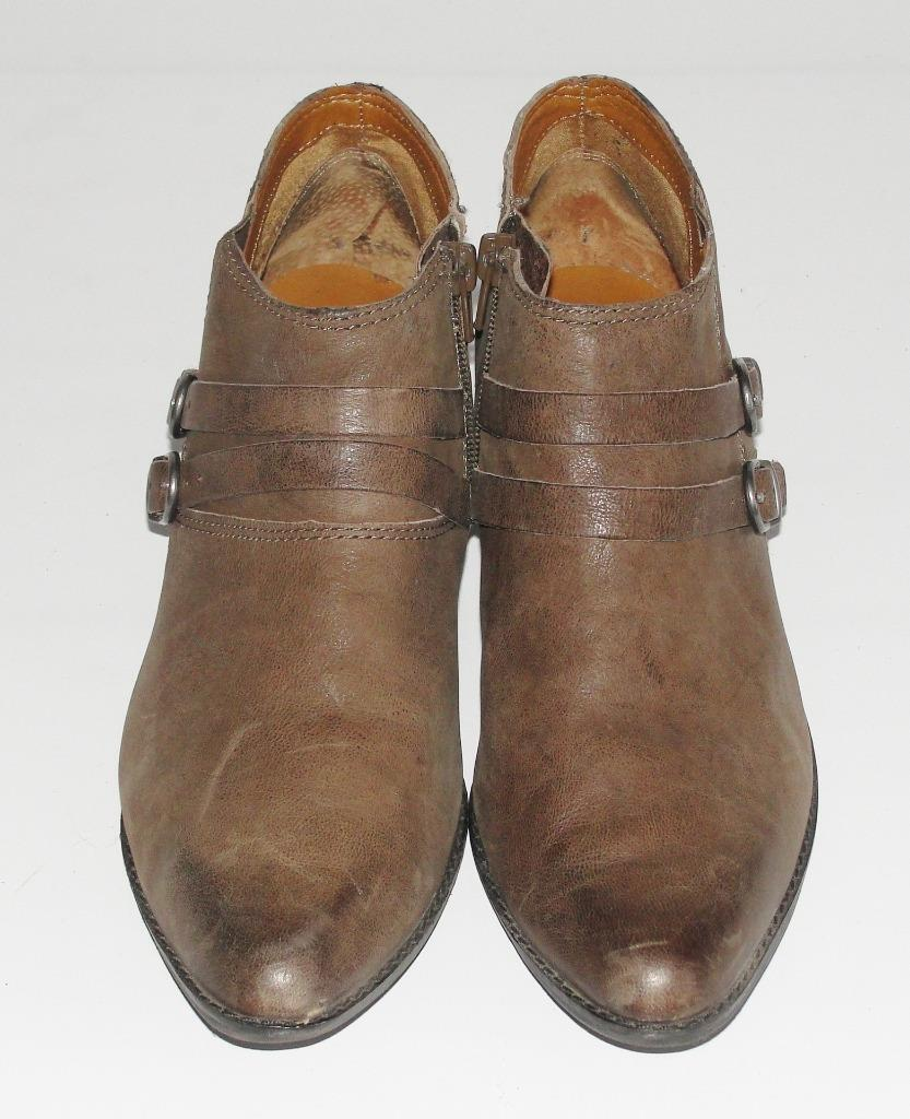 Lucky Brand  effet vieilli  CUIR  Double Boucle  Casual Fashion Chaussons bottes  10