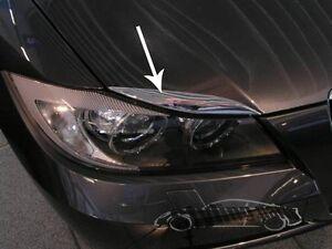 BMW-E90-E91-3er-Headlight-Cover-Eyebrows-Eyebrows-Chrome