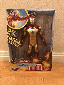 Hasbro-Marvel-Avengers-10-034-Action-Figure-Arc-Strike-Iron-Man-3-New-In-Box