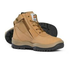 Mongrel Work Boots. Steel Toe Safety. Australian Made.