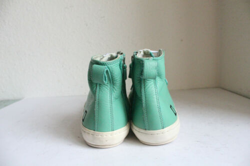 D Uk Sneaker top Eu Green Premium 8 42 Leather Real t a e High Brand HxrqHBw