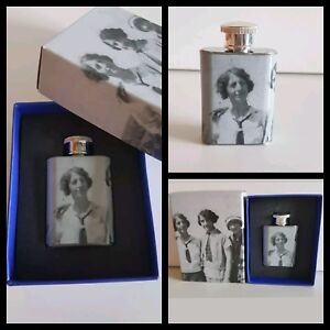 Vintage-Style-Hip-Flask-shot-Flask-boxed-perfect-gift-for-mum-nan-granny-auntie