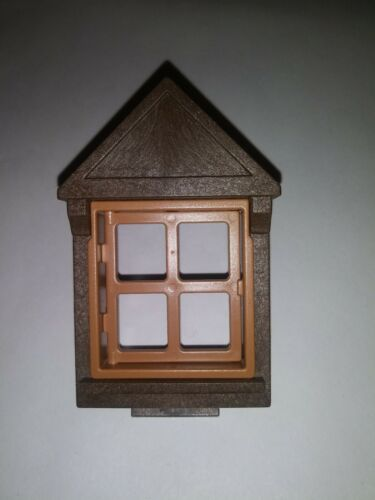 * Playmobil 3 use Windows for half-timbered house KNIGHTS CASTLE MEDIEVAL *