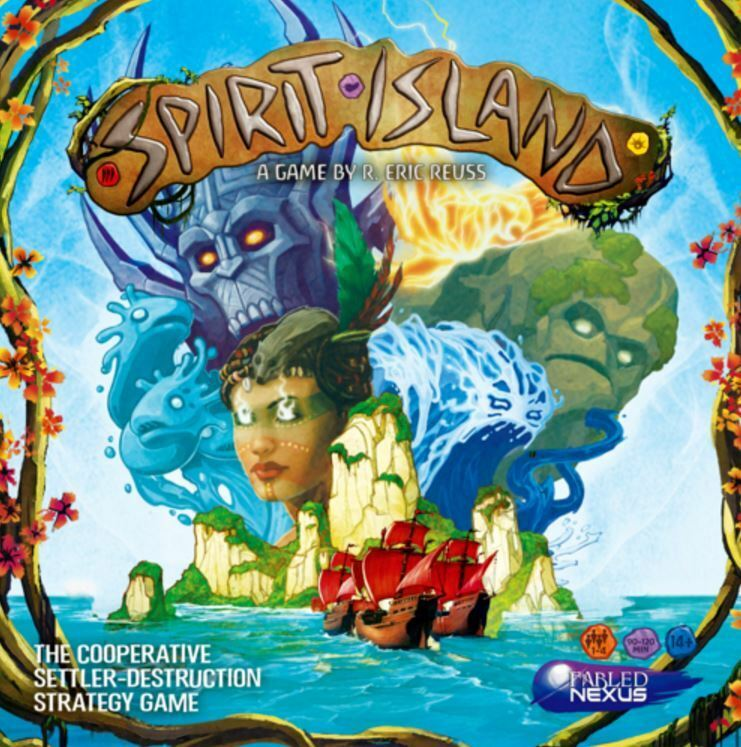 Spirit Island - Jeu de Stratégie