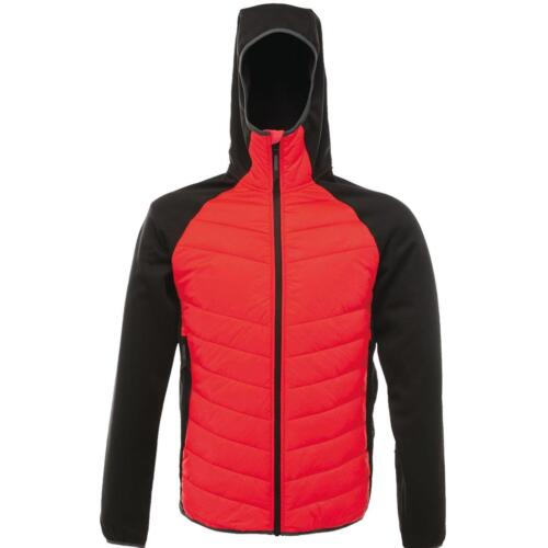 Regatta Deerpark Mens Deerpark Warm Insualted Hooded Hybrid Jacket