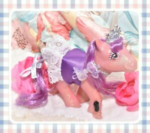 My-Little-Pony-MLP-G1-VTG-PRINCESS-SPARKLE-Light-Up-EURO-UK-Custom-WORKS