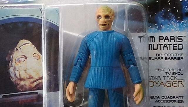 "Star Trek Tom Paris Mutated Playmates 4.5/"" Action Figure"