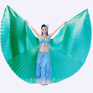 NEW-Angle-Professional-Belly-Dance-Costume-Isis-Wings-10-colors