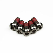 5x Bmw S1000RR Titanium Rear Disc Rotor Bolts With Thread-lock
