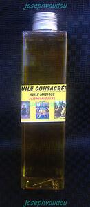 huile consacrée - huile magique - magie blanche - magie vaudou - désenvoutement