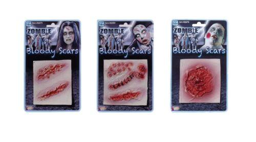 Bloody Scars Zombie Wounds Fancy Dress Halloween