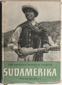 1957 ethnographic book SOUTH AMERICA Andean states expedition